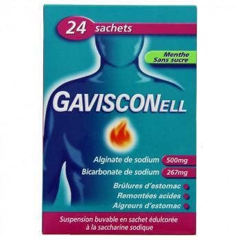 Gavisconell menthe x24 sachets