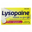 Lysopaine Fraise x36