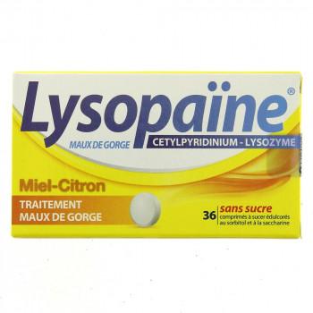 Lysopaine Miel Citron x36