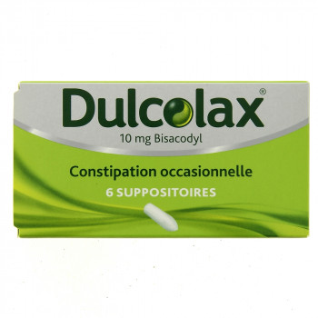 Dulcolax 10mg x6 Suppositoire