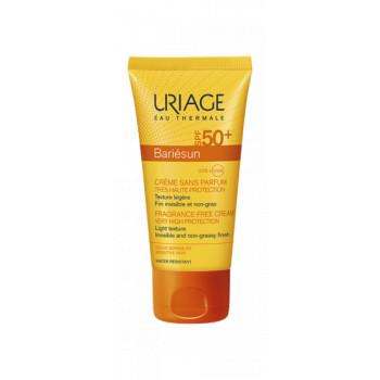 Bariesun Crème sans parfum spf50+ Uriage 50ml