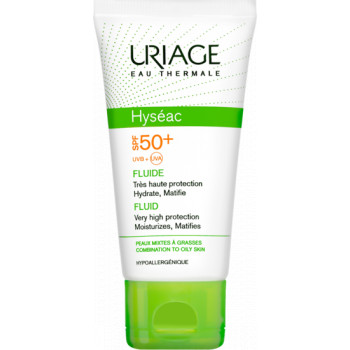 Hyseac Fluide solaire spf50+ Uriage 50ml