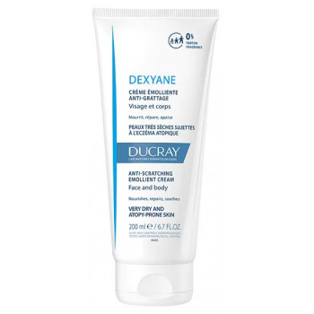 Dexyane Crème émolliente anti-grattage 200ml Ducray