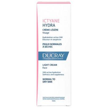 Ictyane crème légère visage 40ml Ducray