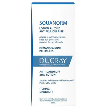Squanorm lotion anti-pellicules 200ml Ducray
