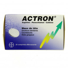 Actron 20cpr effervescents