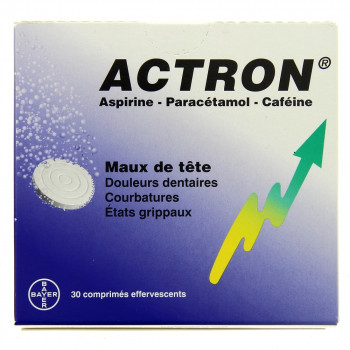 Actron 30cpr effervescents