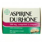 Aspirine du Rhône 500mg...