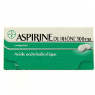 Aspirine du Rhône 500mg 50cpr