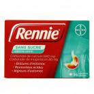 Rennie sans sucre menthe 36cpr