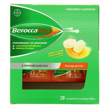 BeroccaPeps x28cp Orange givrée