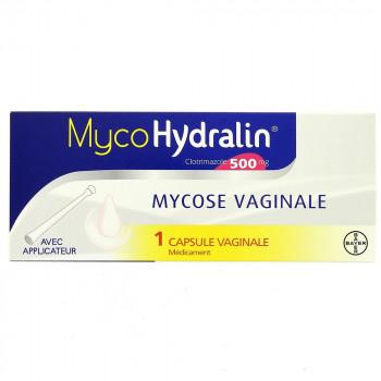 Mycohydralin 500mg capsule vaginale