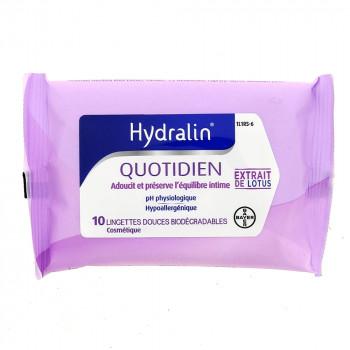 Hydralin Quotidien Lingettes