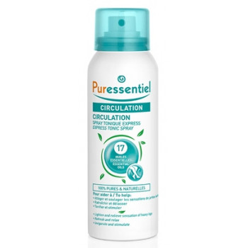 Spray tonique express circualtion 100ml Puressentiel