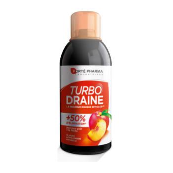 Turbo Draine 500ml Thé vert-Pêche Forté Pharma