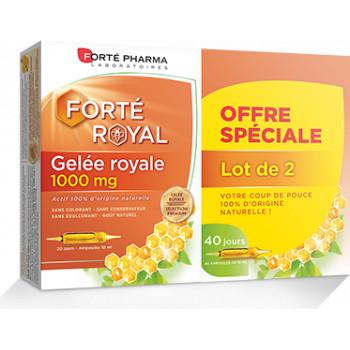 Gelée Royale 1000mg 2x20 ampoules Forté Pharma
