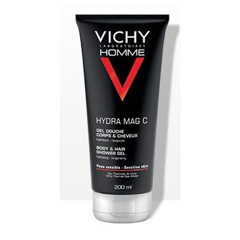 Hydra Mag-C Gel douche 200ml Vichy Homme