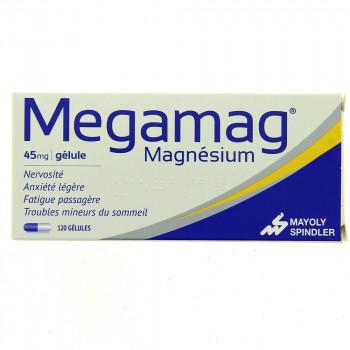 Megamag 45mg 120 gélules