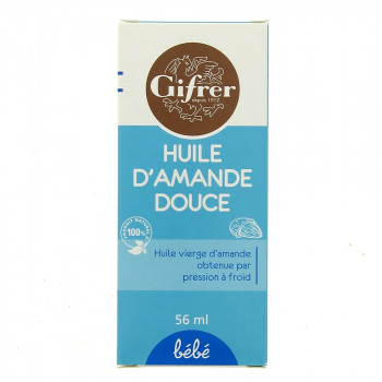 Huile d'amande douce Gifrer 56ml
