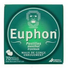 Euphon Pastilles menthol x70