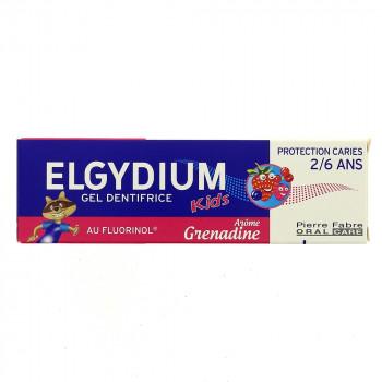 Elgydium Kids Grenadine 2-6ans dentifrice 50ml
