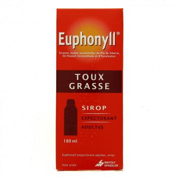 Euphonyll Sirop expectorant adulte 180ml