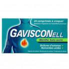 Gavisconell Menthe 24cpr