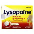 Lysopaïne citron x18