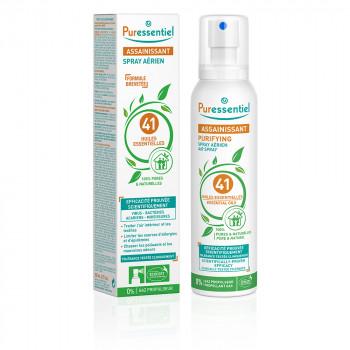 Spray assainissant 200ml aux 41 huiles essentielles Puressentiel