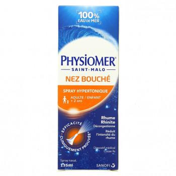 Physiomer Nez bouché Hypertonique 135ml