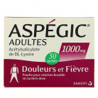 Aspegic 1000mg x30 sachets