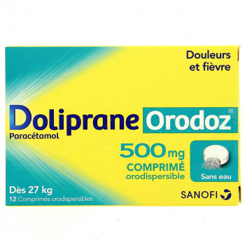 Doliprane Orodoz x12