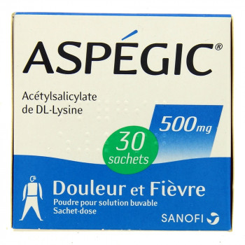 Aspegic 500mg x30 sachets