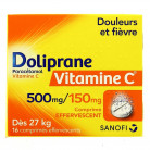 Doliprane Vitamine C 500mg/150...