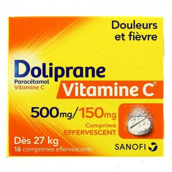 Doliprane Vitamine C 500mg/150 mg 16cpr