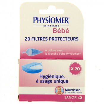 Physiomer recharge filtre x20