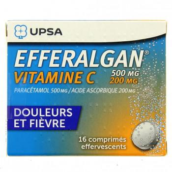 Efferalgan Vitamine C 500mg/200mg 16cpr