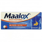 Maalox Fruits rouges x40cpr