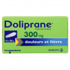 Doliprane 300mg x10 Suppositoires