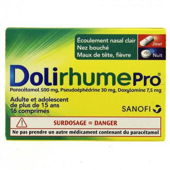 DolirhumePro x16 comprimés