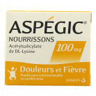 Aspegic 100mg nourrissons x20...