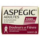 Aspegic 1000mg x20 sachets