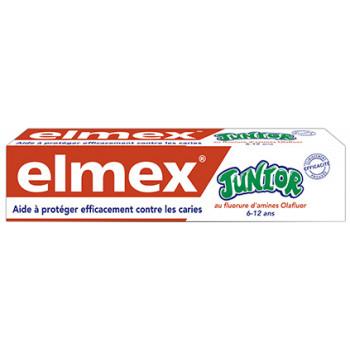 Elmex Junior 6/12 ans 75ml