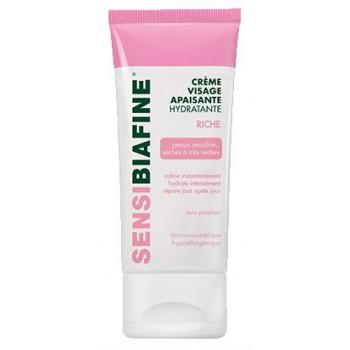 Sensibiafine Crème visage riche hydratante apaisante 50ml
