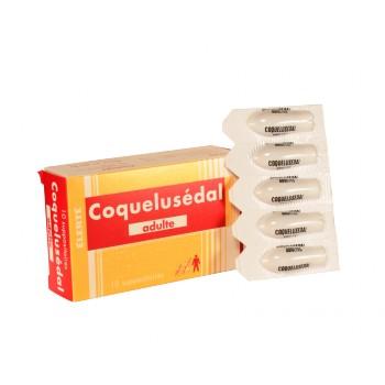 Coquelusedal Suppositoire adulte x10