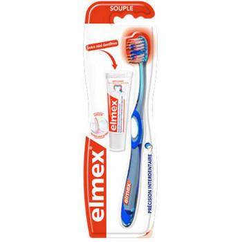 Brosse à dents Elmex anti caries Precision
