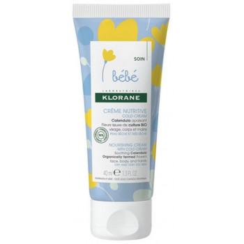 Crème nutritive au cold cream 40ml Klorane bébé