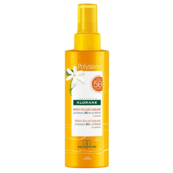 Spray solaire Sublime spf50 200ml Klorane Polysianes