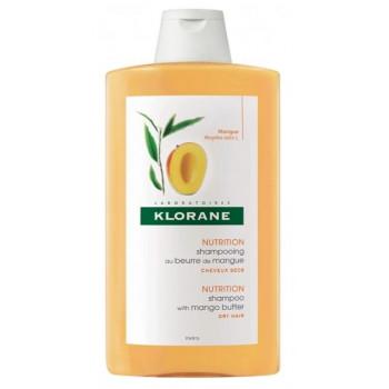 Shampooing 400ml Beurre de Mangue Klorane