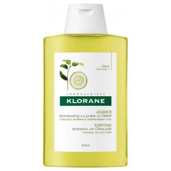 Shampooing 400ml pulpe de cédrat Klorane